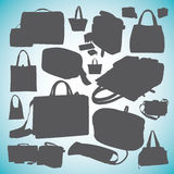 Bag collection  0053 Royalty Free Stock Photography