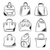 Bag collection Stock Photos
