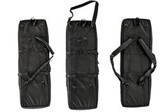 Bag for concealed carry of submachine gun. Isolated Royalty Free Stock Photography