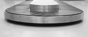 Bag conveyor in airport Stock Images