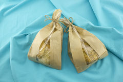 Bag of cookies Royalty Free Stock Images