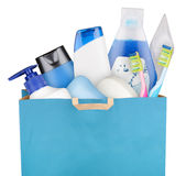 Bag with cosmetics Royalty Free Stock Image