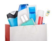 Bag of cosmetics Royalty Free Stock Image