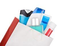 Bag of cosmetics Stock Photography