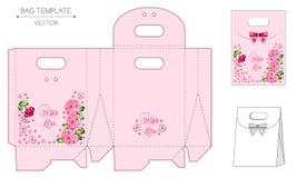 Bag design, die-stamping Stock Photo