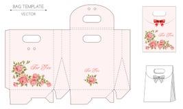 Bag design die-stamping Stock Images