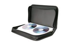 Bag for digital disks Stock Photography