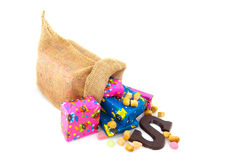 Bag from Dutch Sinterklaas Royalty Free Stock Photo