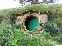 Bag End, The Shire, New Zealand Stock Photo