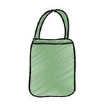 Bag female drawing icon Stock Image