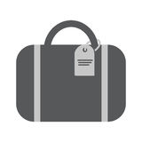 Bag flat icon for traveling. Flat icon of travaling bag vector illustration EPS10 Stock Image