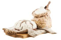Bag of flour royalty free stock image
