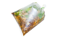 Bag food Stock Images