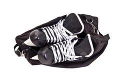 Free Bag For Pair Of Hockey Skates Royalty Free Stock Photos - 20884628