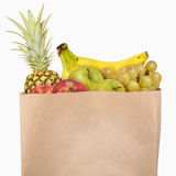 Bag of fruits Royalty Free Stock Photo
