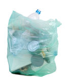Bag full of garbage Royalty Free Stock Photos