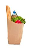Bag full of groceries Stock Photography
