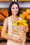 The bag full of health. Royalty Free Stock Photography