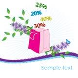 Bag_garden Stock Images