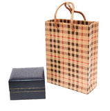 Bag and gift box Royalty Free Stock Images