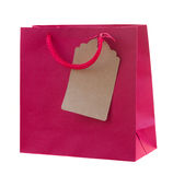 Bag with gift Royalty Free Stock Photos
