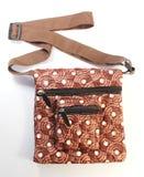 Bag for girl kids. On white background Stock Photo