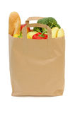 Bag of groceries Stock Images
