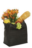 Bag of groceries Royalty Free Stock Image