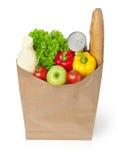 Bag of groceries Stock Image