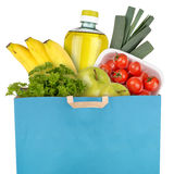 Bag of groceries Royalty Free Stock Images