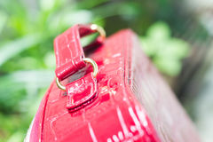 Bag holder Stock Image