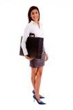 bag holding professional side view young Στοκ Εικόνες