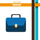 Bag icon design Royalty Free Stock Images