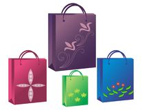 Bag icons Royalty Free Stock Images