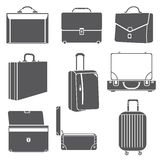 Bag icons Stock Photography