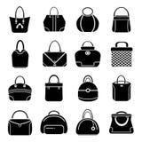 Bag icons Stock Photos
