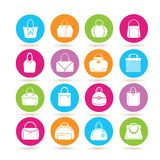 Bag icons Royalty Free Stock Photo