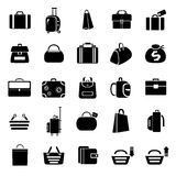 Bag icons Royalty Free Stock Image