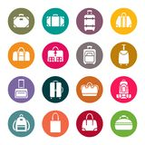 Bag icons set.Vector Stock Photos