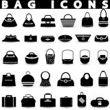 Bag icons.Shopping icons set. Stock Images