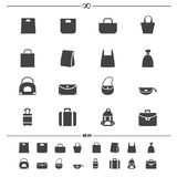 Bag icons vector Stock Image