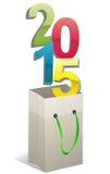 2015 bag Stock Image