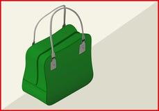 Bag isometric flat vector 3d Stock Photography