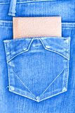Bag and jean Royalty Free Stock Photography