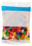Bag of Jelly Beans Royalty Free Stock Photo