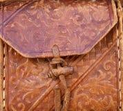 bag läder Royaltyfria Bilder