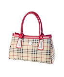 Bag, ladies bag on background. Royalty Free Stock Photography