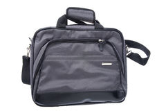 Bag for laptop on white Royalty Free Stock Image