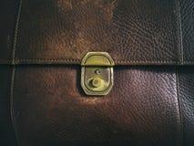 Bag leather Stock Photos