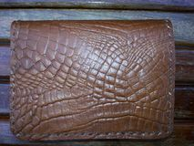 Bag leather Stock Images